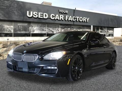 2015 BMW 6 Series for sale at JOELSCARZ.COM in Flushing MI