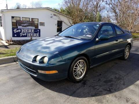 1997 Acura Integra for sale at TR MOTORS in Gastonia NC
