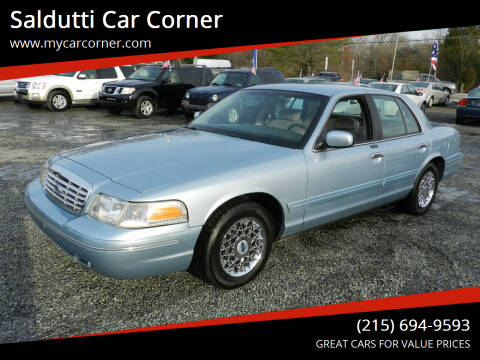 2002 Ford Crown Victoria for sale at Saldutti Car Corner in Gilbertsville PA