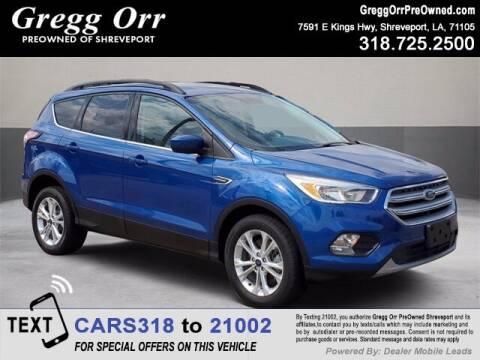 2018 Ford Escape for sale at Gregg Orr Pre-Owned Shreveport in Shreveport LA