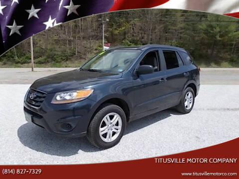 2010 Hyundai Santa Fe for sale at Titusville Motor Company in Titusville PA