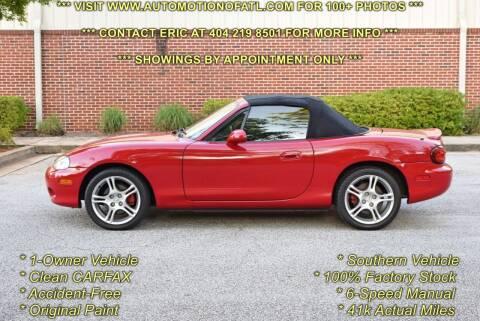 2005 Mazda MX-5 Miata for sale at Automotion Of Atlanta in Conyers GA