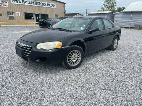 2004 Chrysler Sebring for sale at Bayou Motors Inc in Houma LA