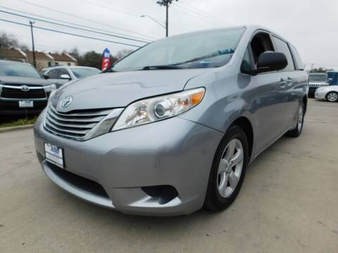 2015 Toyota Sienna for sale at AMD AUTO in San Antonio TX