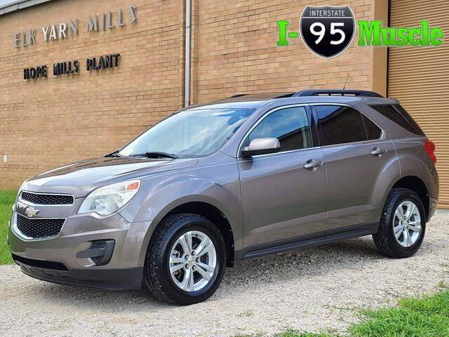 2011 Chevrolet Equinox for sale at I-95 Muscle in Hope Mills NC