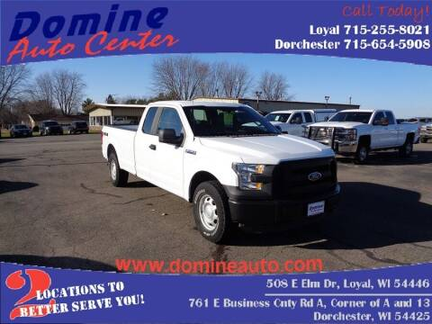 2016 Ford F-150 for sale at Domine Auto Center - commercial vehicles in Loyal WI