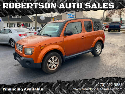 2007 Honda Element for sale at ROBERTSON AUTO SALES in Bowling Green KY