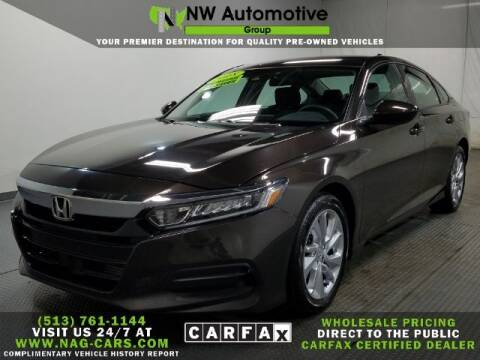 2018 Honda Accord for sale at NW Automotive Group in Cincinnati OH