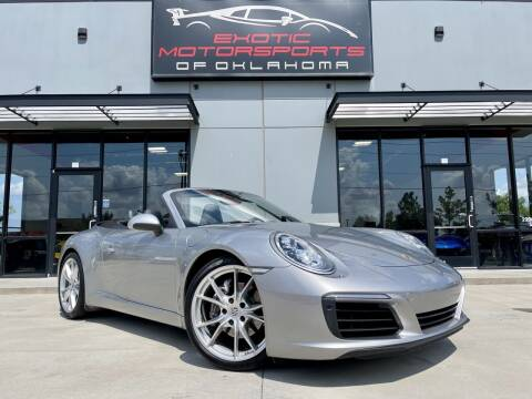 2017 Porsche 911 for sale at Exotic Motorsports of Oklahoma in Edmond OK