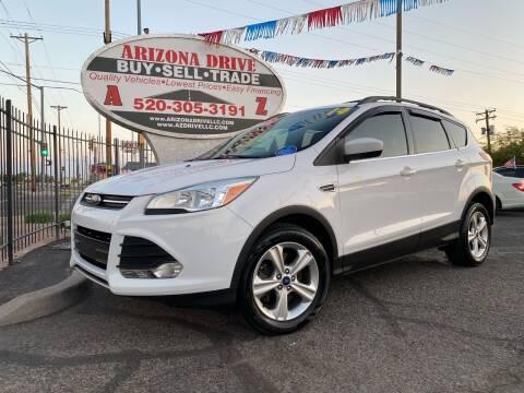 2014 Ford Escape for sale at Arizona Drive LLC in Tucson AZ