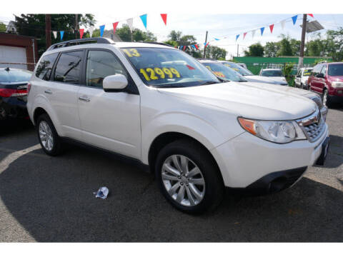 2013 Subaru Forester for sale at MICHAEL ANTHONY AUTO SALES in Plainfield NJ