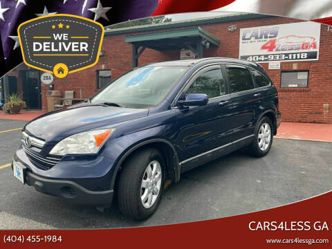 2009 Honda CR-V for sale at Cars4Less GA in Alpharetta GA