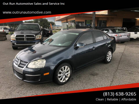2010 Volkswagen Jetta for sale at Out Run Automotive Sales and Service Inc in Tampa FL
