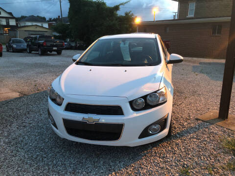 2015 Chevrolet Sonic for sale at ADKINS PRE OWNED CARS LLC in Kenova WV