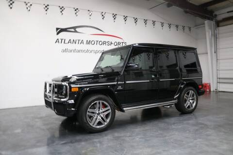 2013 Mercedes-Benz G-Class for sale at Atlanta Motorsports in Roswell GA