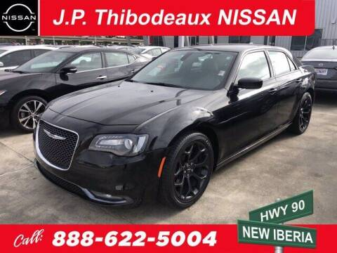 2019 Chrysler 300 for sale at J P Thibodeaux Used Cars in New Iberia LA