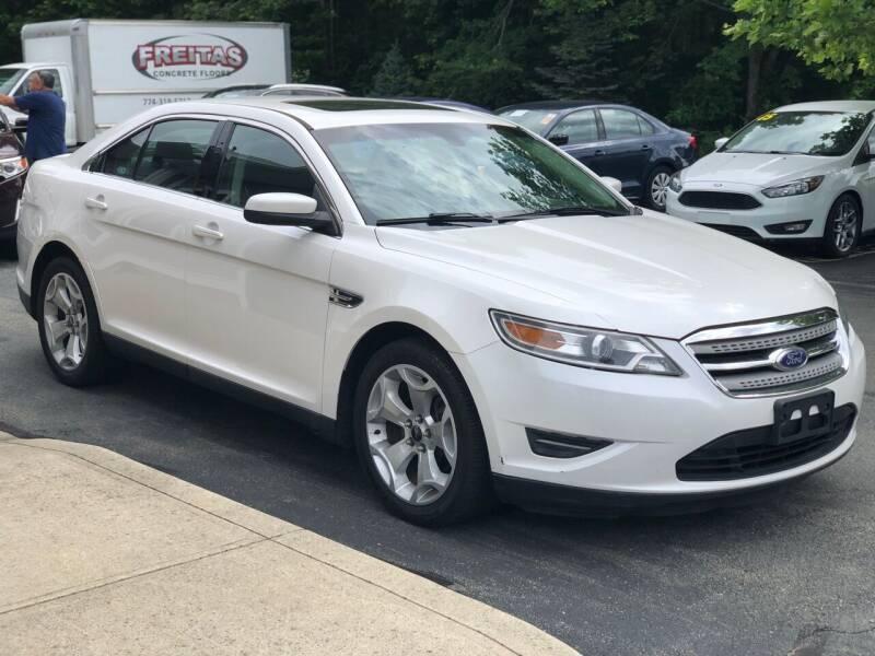2012 Ford Taurus for sale at Elite Auto Sales in North Dartmouth MA