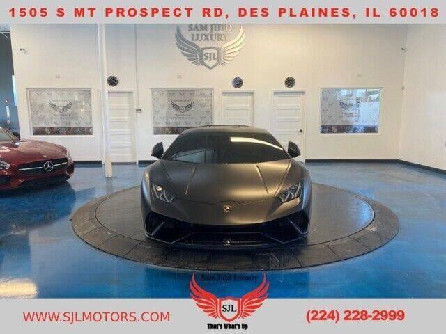 2018 Lamborghini Huracan for sale in Des Plaines, IL