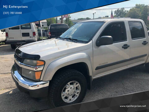 2005 Chevrolet Colorado for sale at NJ Enterprises in Indianapolis IN
