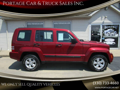 2012 Jeep Liberty for sale at Portage Car & Truck Sales Inc. in Akron OH