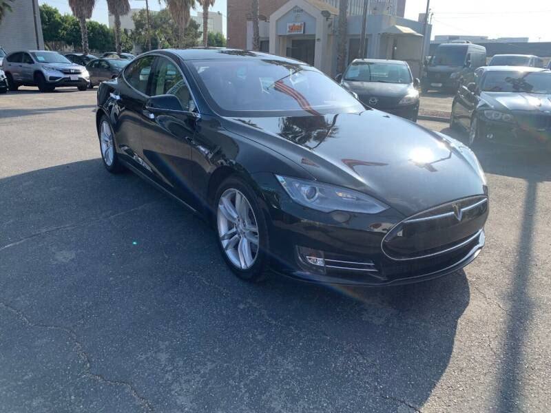 2013 Tesla Model S for sale at In-House Auto Finance in Hawthorne CA