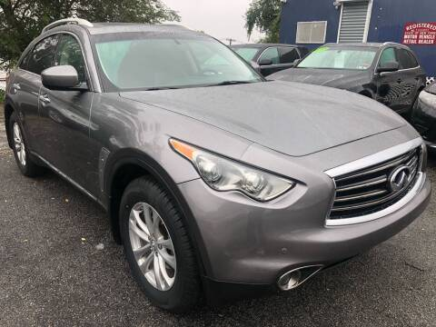 2012 Infiniti FX35 for sale at TD MOTOR LEASING LLC in Staten Island NY