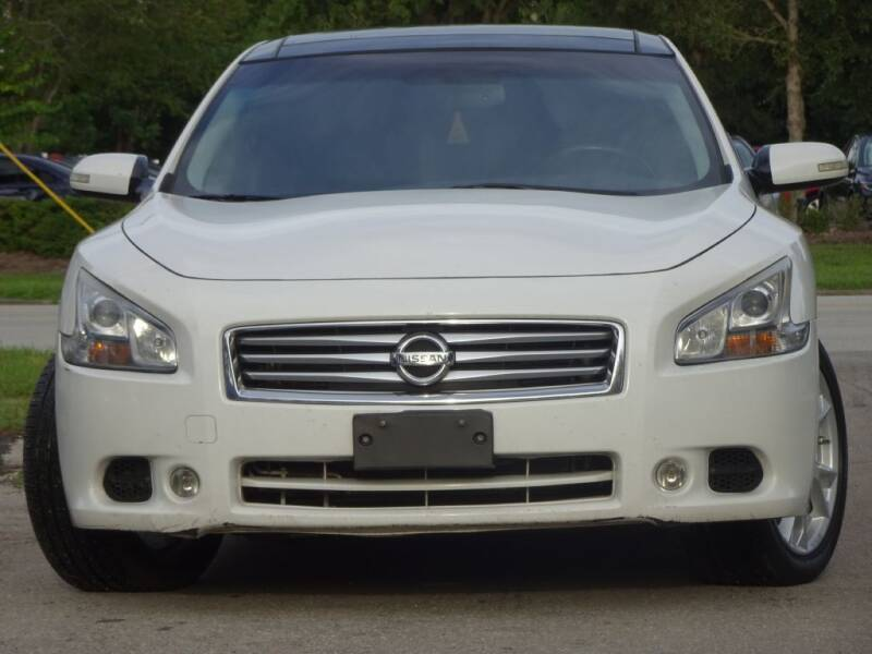 2012 Nissan Maxima for sale at Deal Maker of Gainesville in Gainesville FL