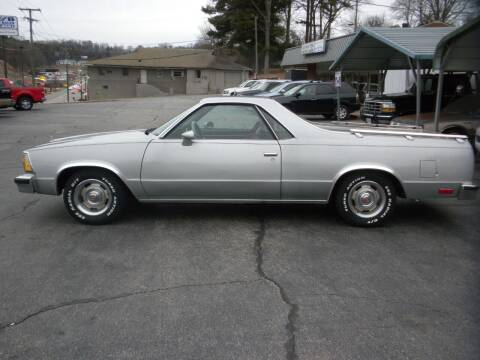 1980 Chevrolet El Camino for sale at D & B Auto Sales & Service in Martinsville VA