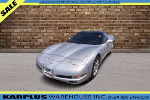 2003 Chevrolet Corvette for sale at Karplus Warehouse in Pacoima CA