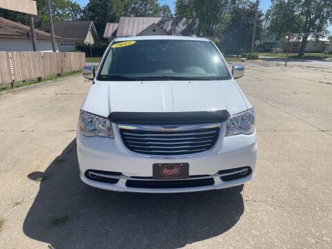 2015 Chrysler Town and Country for sale at Brecht Auto Sales LLC in New London IA