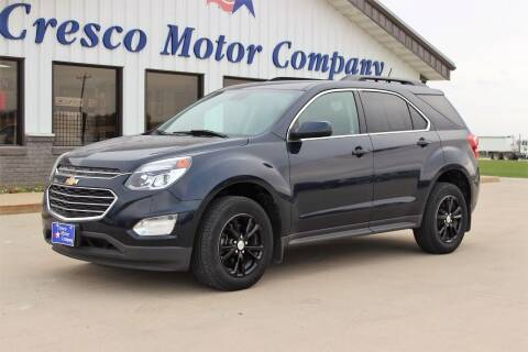 2017 Chevrolet Equinox for sale at Cresco Motor Company in Cresco IA