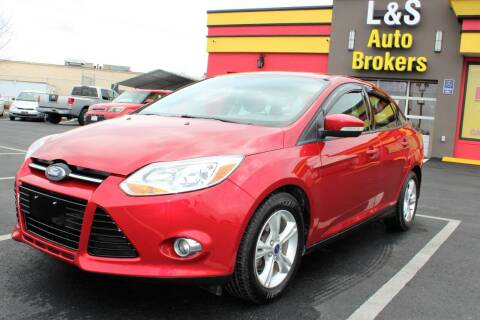 2012 Ford Focus for sale at L & S AUTO BROKERS in Fredericksburg VA