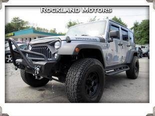 2016 Jeep Wrangler Unlimited 4x4 Sport 4dr SUV - West Nyack NY