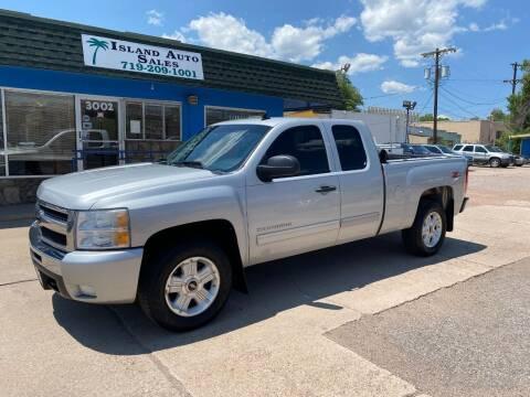 2011 Chevrolet Silverado 1500 for sale at Island Auto Sales in Colorado Springs CO