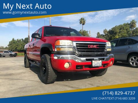2005 GMC Sierra 2500HD for sale at My Next Auto in Anaheim CA