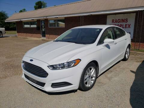 2016 Ford Fusion for sale at RAGINS AUTOPLEX in Kennett MO