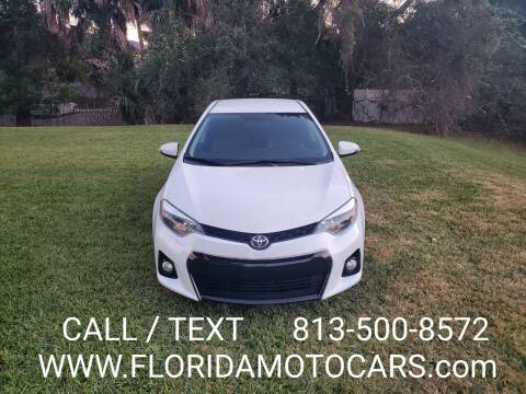 2016 Toyota Corolla for sale at Florida Motocars in Tampa FL
