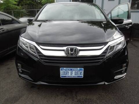 2019 Honda Odyssey for sale at LUXURY OF QUEENS,INC in Long Island City NY