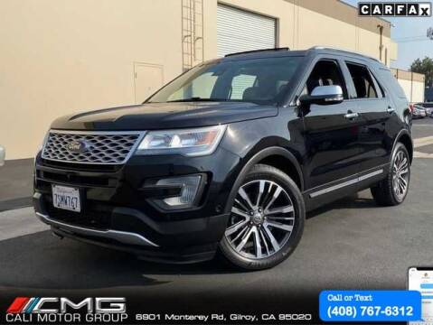 2016 Ford Explorer for sale at Cali Motor Group in Gilroy CA