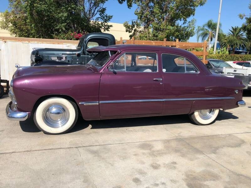 1949 Ford Custom for sale at HIGH-LINE MOTOR SPORTS in Brea CA