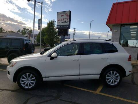 2012 Volkswagen Touareg for sale at Select Auto Group in Wyoming MI