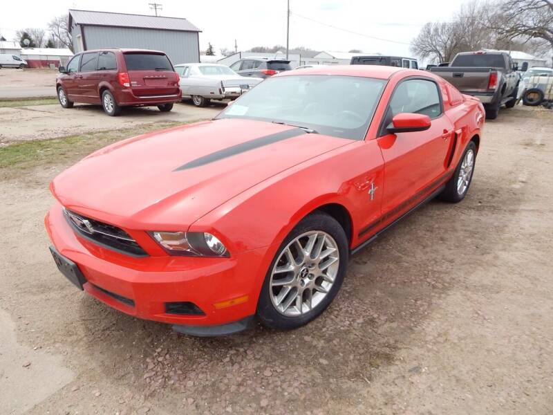 2012 Ford Mustang for sale at S & M Auto Sales in Centerville SD
