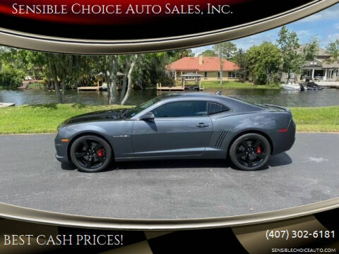 2010 Chevrolet Camaro for sale at Sensible Choice Auto Sales, Inc. in Longwood FL