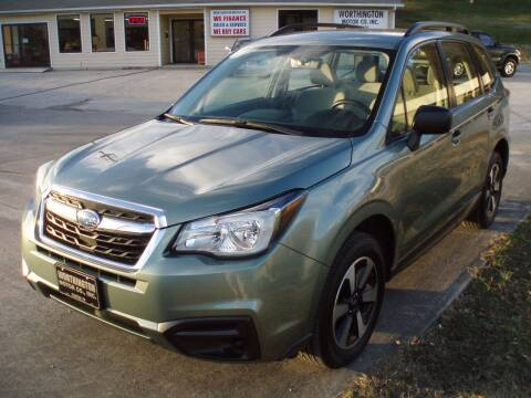 2017 Subaru Forester for sale at Worthington Motor Co, Inc in Clinton TN