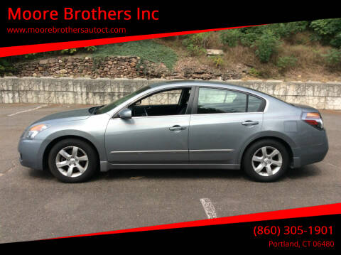 2009 Nissan Altima for sale at Moore Brothers Inc in Portland CT