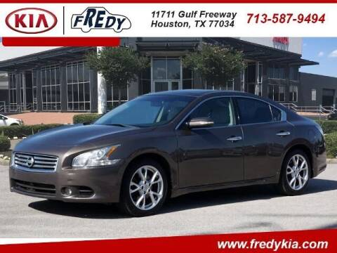 2014 Nissan Maxima for sale at FREDY KIA USED CARS in Houston TX