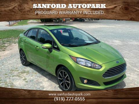 2018 Ford Fiesta for sale at Sanford Autopark in Sanford NC