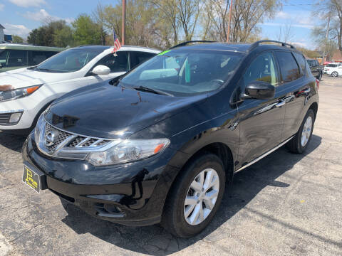 2011 Nissan Murano for sale at PAPERLAND MOTORS - Fresh Inventory in Green Bay WI