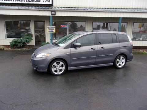 2007 Mazda MAZDA5 for sale at PJ's Auto Center in Salem OR