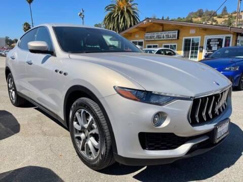 2018 Maserati Levante for sale at MISSION AUTOS in Hayward CA
